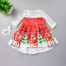 Vestido de navidad para niña