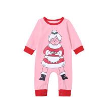 Bebek Kız Noel Baskı Tulum