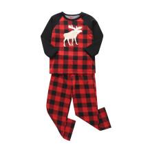 Familienpyjamas zu Weihnachten für Kinder