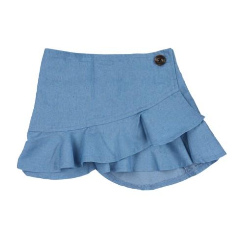 Детская девушка джинсовая юбка русалка