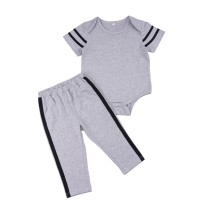 Baby Boy grauen Hosen Set
