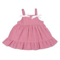 Детское платье в клетку