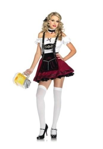Bier Mädchen Sexy Kostüm