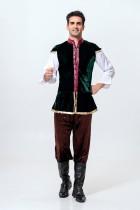 Женский двухсекционный этнический костюм