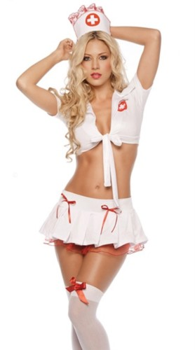 Frauen Sexy Krankenschwester Kostüm