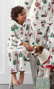 Family Christmas Pajama Set for Son