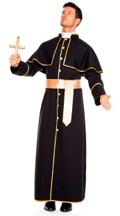 Priest Men Costume