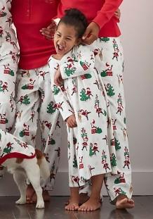 Pijama familiar navideño para hija