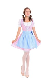 Dames French Maid kostuum
