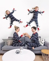 Family Christmas tweedelige pyjama set voor papa
