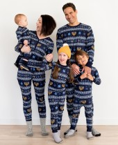 Familienweihnachts-zweiteiliger Pyjama-Satz für Baby