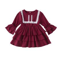 Красное платье для девочек