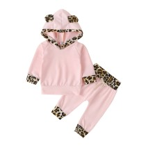Costume Pantalon Enfant Fille Ours Rose