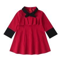 Детское красное платье A-Line