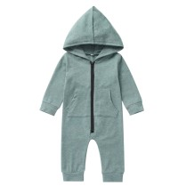 Kids Boy Zip Up Hoody Jumpsuit