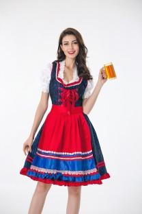 Fato de menina sexy cerveja