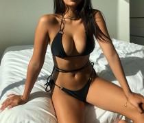 Schlichte feste Micro Bikini Bademode