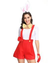 Vrouwen mooie konijn kostuum