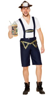 Beer Man Carnival Costume