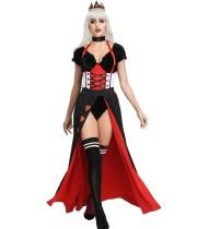 Disfraz de reina de carnaval para mujer