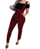Calças de cintura alta sexy apertadas