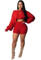 Укороченный топ и шорты Sexy Sweater