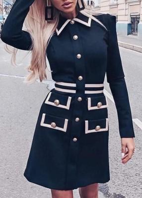 Винтажное элегантное платье-пиджак