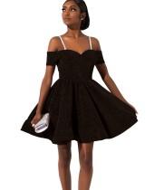 Случайные ремни плиссированные платья выпускного вечера
