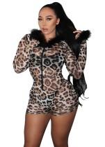 Pagliaccetti aderenti leopardati da vedere sexy