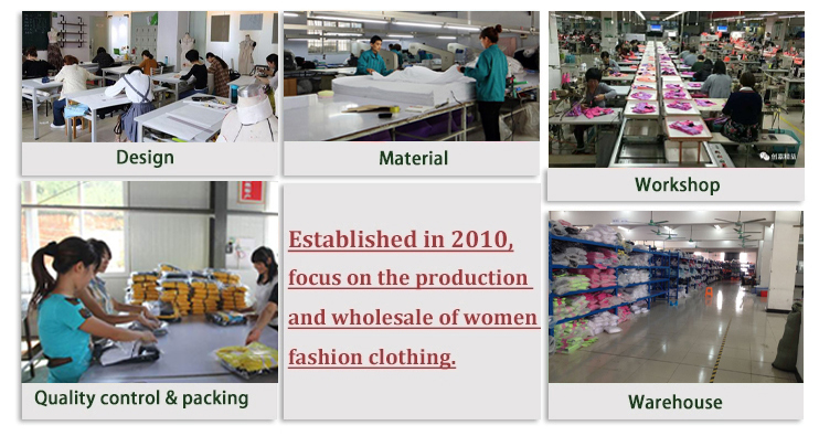 Amante global al por mayor ropa de mujer