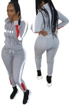Sports Long Sleeves Hoody Tracksuit