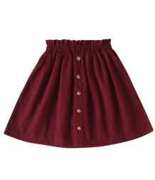 Kids Girl Red A-Line Skirt