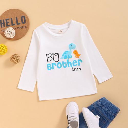 Kinder Boy Print Langarm Shirt