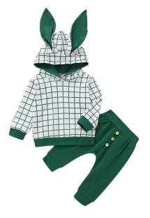 Толстовка с капюшоном Kids Boy Green