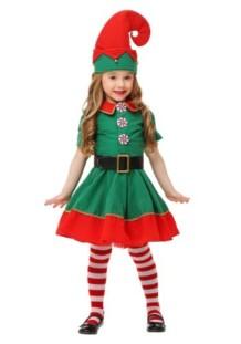 Disfraz Verde Navidad Chicas