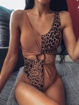 Costume da bagno sexy Leopard One Piece