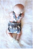 Baby Boy Sommer Print ärmellose Strampler