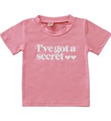 Zomers shirt met meisjesprint voor kinderen