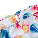 Kinder Mädchen Sommer Träger Top und Print Shorts