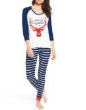 Weihnachten zweiteilige Frauen Pyjama Set