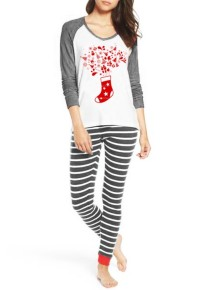 Christmas Two Piece Women Pajama Set