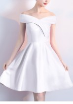Sexy Schatz Bridemaid Kurzes Kleid