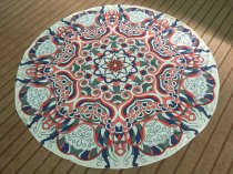 Indian Mandala Round Beach Towel 21434-1