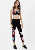 Block Color Yoga Top en Leggings