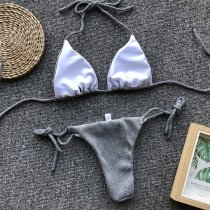 Two-Piece Brazilian Shiny Bikini