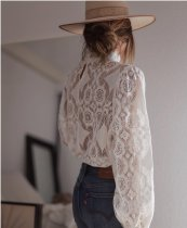 Chic and Sexy Lace Top