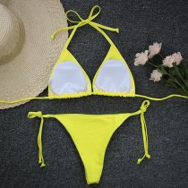 Sexy Two-Piece O-Ring Brazilian Swimwear