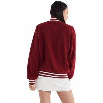 Red Polar Fleece Stylish Jersey