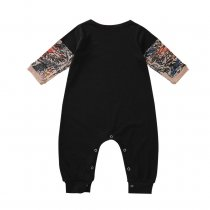 Baby Boy Cotton Print Onesie Rompers