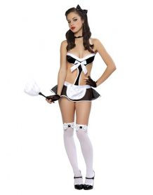 Maid To Clean Lingerie Costume 10275